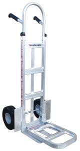 Magliner Hand Truck with Folding Toe & Wheel Guards <br />Model: 230-HM-1010-F2-WG