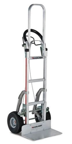 Tall Loop Handle Brake Truck with Stairclimbers <br />Model: 122-G2-1060-C5-60-BR