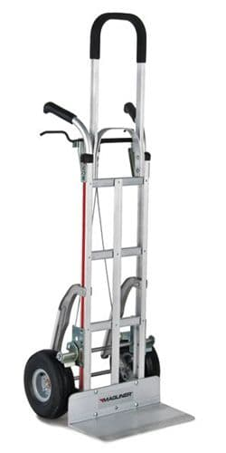 Tall Pistol Grip Brake Truck with Stairclimbers <br />Model: 216-G2-1060-C5-55F-BR