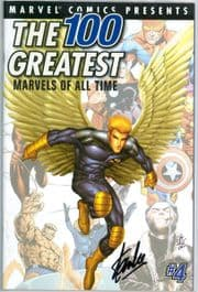 100 Greatest Marvels Of All Time #4 Dynamic Forces Signed Stan Lee DF COA Ltd 25 Giant Size X-Men #1