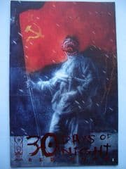 30 Days of Night Red Snow #1 Comicon Red Foil Variant