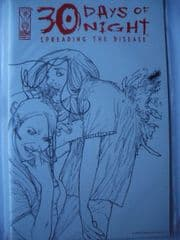 30 Days of Night Spreading the Disease #3 Sketch Variant