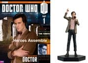 Doctor Who Figurine Collection #001 11th Eleventh Doctor Matt Smith Eaglemoss