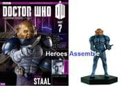Doctor Who Figurine Collection #007 General Staal Sontaran Eaglemoss