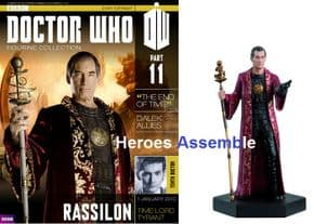 Doctor Who Figurine Collection #011 Rassilon Time Lord Eaglemoss