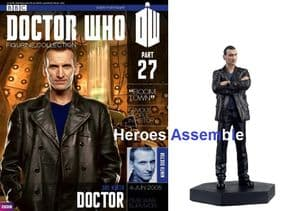 Doctor Who Figurine Collection #027 Ninth Doctor Christopher Ecclestone Eaglemoss