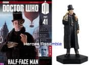 Doctor Who Figurine Collection #041 Half Face Man Eaglemoss