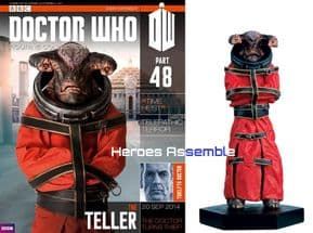 Doctor Who Figurine Collection #048 Teller Eaglemoss