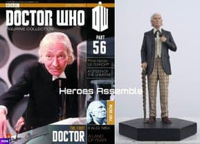 Doctor Who Figurine Collection #056 First Doctor William Hartnell Eaglemoss