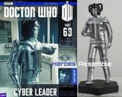 Doctor Who Figurine Collection #063 Cyber Leader Eaglemoss