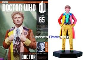 Doctor Who Figurine Collection #065 Sixth Doctor Colin Baker Eaglemoss