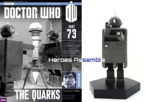 Doctor Who Figurine Collection #073 Quark Eaglemoss