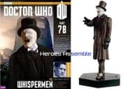 Doctor Who Figurine Collection #078 Whisperman Eaglemoss