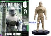 Doctor Who Figurine Collection #079 Robot Mummy Eaglemoss