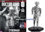 Doctor Who Figurine Collection #080 Cyberman Eaglemoss
