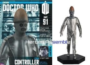 Doctor Who Figurine Collection #091 Cyber Controller Eaglemoss