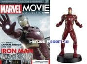 Marvel Movie Collection #031 Iron Man MK XIVI Figurine Eaglemoss Publications