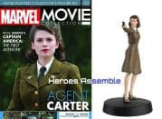 Marvel Movie Collection #033 Agent Carter Figurine Eaglemoss Publications