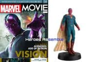 Marvel Movie Collection #034 The Vision Figurine Eaglemoss Publications
