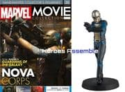 Marvel Movie Collection #038 Nova Corps Figurine Eaglemoss Publications