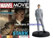 Marvel Movie Collection #039 Howard Stark Figurine Eaglemoss Publications