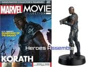 Marvel Movie Collection #040 Korath Figurine Eaglemoss Publications