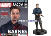 Marvel Movie Collection #062 Bucky Barnes Figurine Eaglemoss Publications