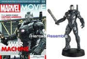 Marvel Movie Collection #064 War Machine V2 Figurine Eaglemoss Publications