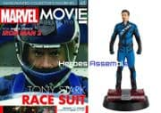 Marvel Movie Collection #065  Tony Stark Race Suit Figurine Eaglemoss Publications