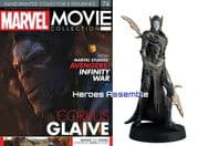 Marvel Movie Collection #074 Corvus Glaive Figurine Eaglemoss Publications