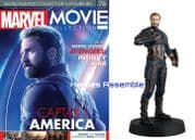 Marvel Movie Collection #076 Captain America Avengers Infinity War Figurine Eaglemoss Publications