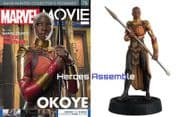Marvel Movie Collection #078 Okoye Figurine Eaglemoss Publications