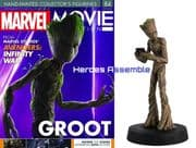 Marvel Movie Collection #084 Groot Avengers Infinity War Figurine Eaglemoss Publications