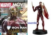 Marvel Movie Collection #092 Iron Man Mark 50 Figurine Eaglemoss Publications