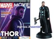 Marvel Movie Collection #095 Thor Avengers Infinity War Figurine Eaglemoss Publications