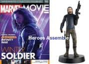 Marvel Movie Collection #096 Winter Soldier Avengers Infinity War Figurine Eaglemoss Publications