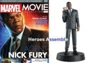 Marvel Movie Collection #098 Nick Fury Captain Marvel Figurine Eaglemoss Publications