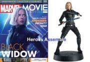 Marvel Movie Collection #099 Black Widow Figurine Avengers Infinity Eaglemoss Publications