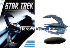 Star Trek Official Starships Collection #024 Xindi Insectoid Eaglemoss
