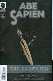 Abe Sapien The Drowning #5 Dark Horse Comics US Import Mike Mignola