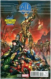 Age Of Ultron #1 J.Scott Campbell Midtown Variant (2013) Marvel comic book