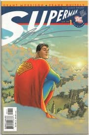 All Star Superman #1 Dynamic Forces Signed Grant Morrison DF COA Ltd DC comic book