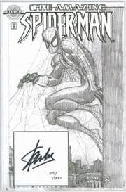 Amazing Spider-man #1 Authentix Variant Dynamic Forces Signed Stan Lee DF COA Marvel comic book