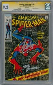 Amazing Spider-man #100 1971 CGC 9.2 Signature Series Signed Stan Lee John Romita Marvel