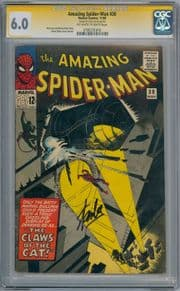 Amazing Spider-man #30 CGC 6.0 Signature Series Signed Stan Lee Silver Age Marvel comic book
