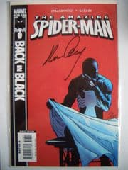 Amazing Spider-man #543 Dynamic Forces DF Signed Garney COA Ltd 265