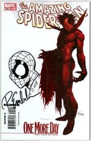 Amazing Spider-man #545 Variant Dynamic Forces Signed Remarked Emberlin DF No Way Home Movie Marvel