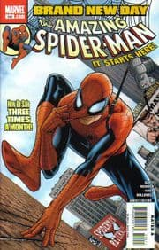 Amazing Spider-man #546 Brand New Day Pt 1 - Double Sized