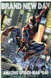 Amazing Spider-man #546 Hitch Variant 1:20 One More Day Marvel comic book