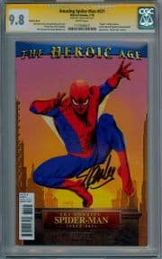 Amazing Spider-man  #631 Variant CGC 9.8 Signature Series Signed Stan Lee Marvel comic book